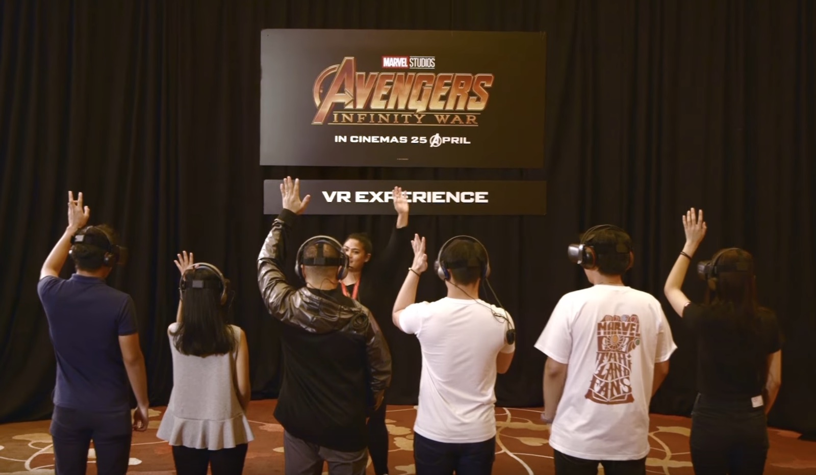 This Marvel Avengers: Infinity War VR Experience Just Blew The Fans Away