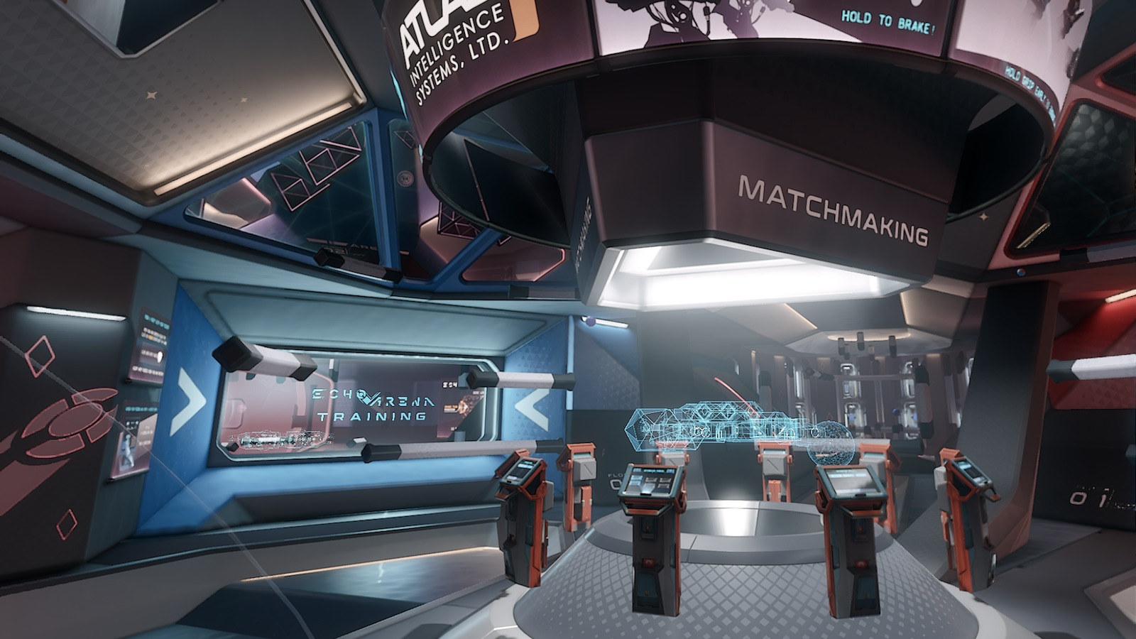 The New Lobby In Echo Arena Looks Like Something Straight Out Of A Sci-Fi Movie