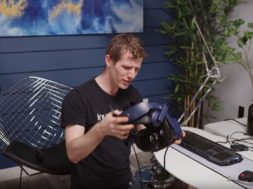 linus tech tips htc vive pro