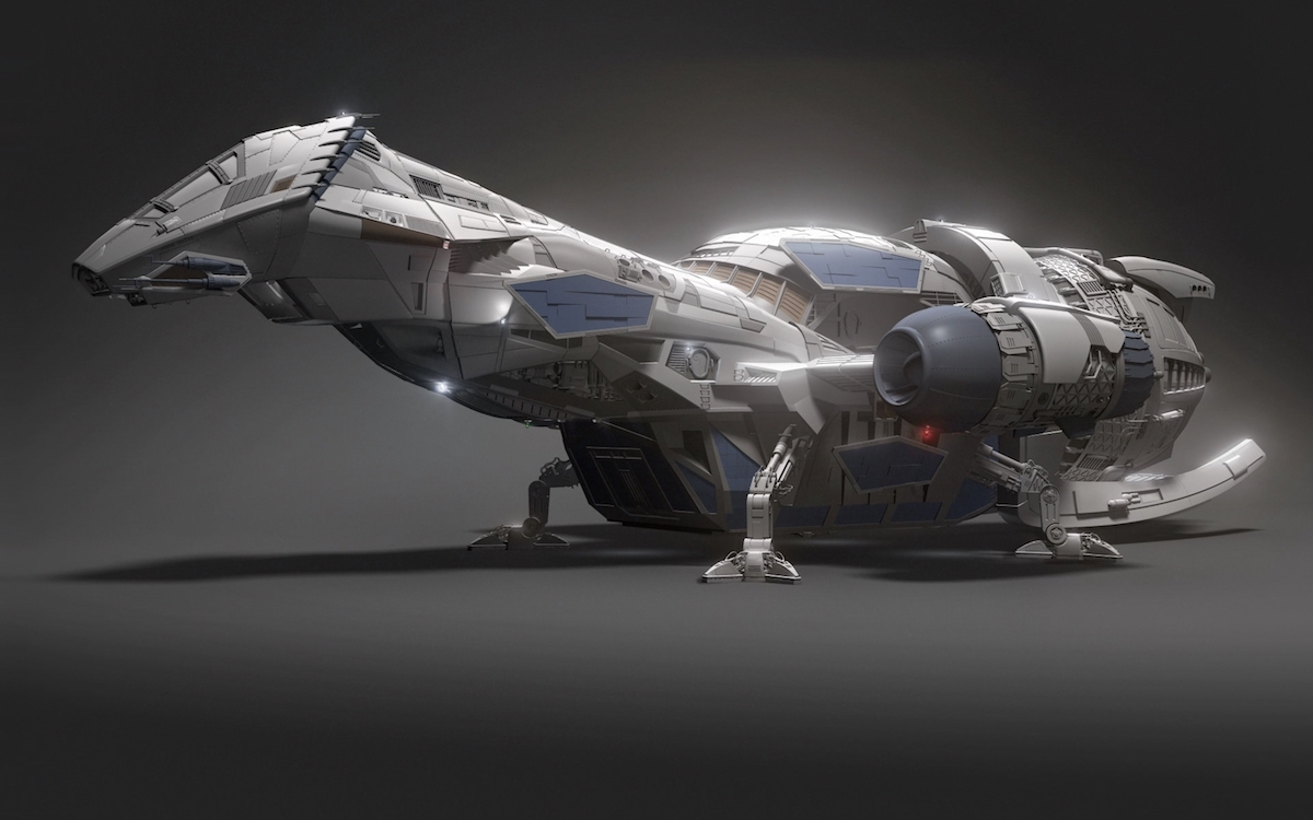 Come Aboard The Serenity Spaceship From Firefly In VR With