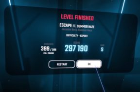 beat saber escape 100 percent clear