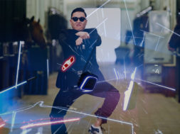 gangnam style vr beat saber