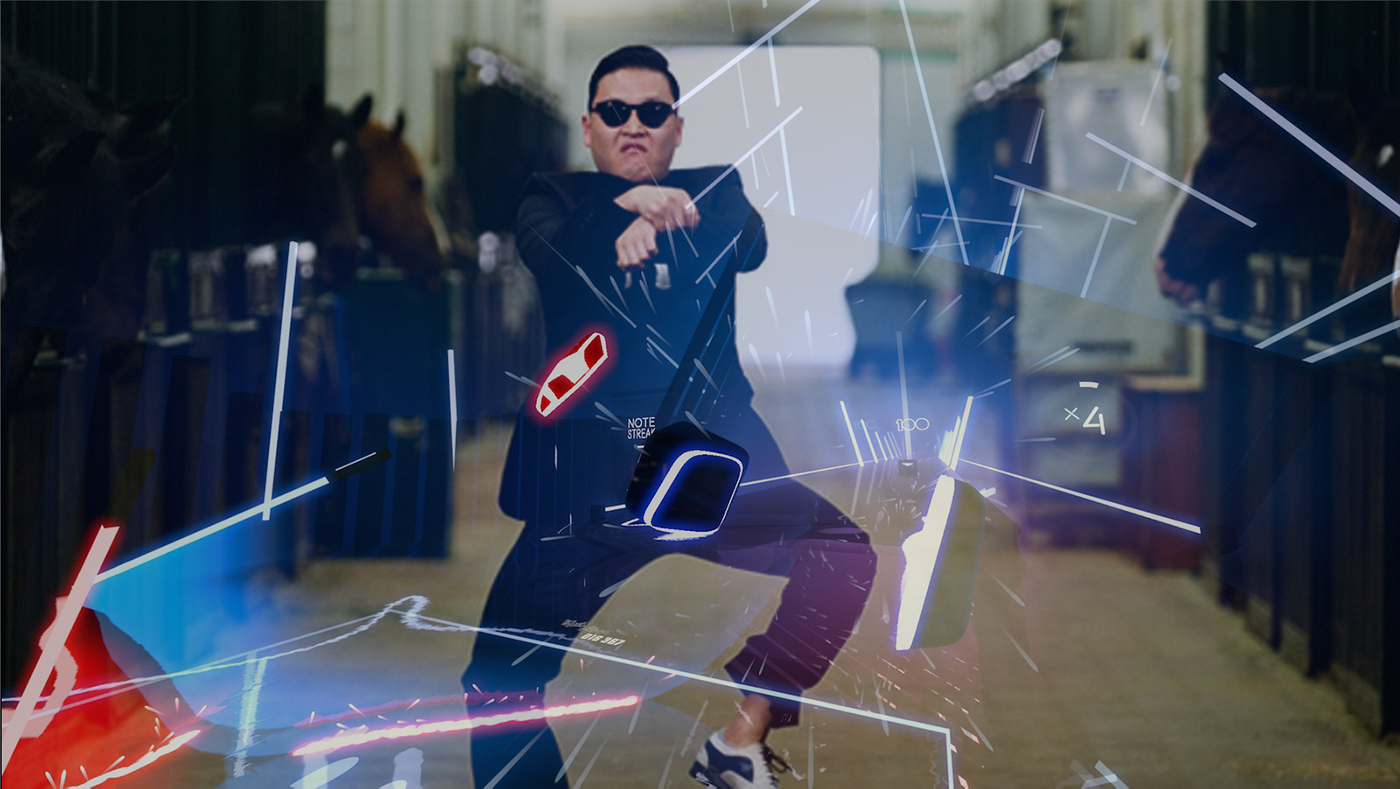 The Infamous Gangnam Style Dance Comes Back To Life In The Beat Saber VR Game