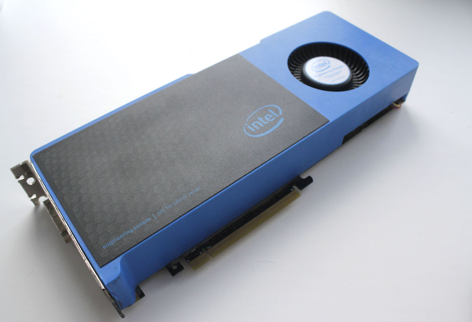 Check Out Intel's Graphics Card Prototype