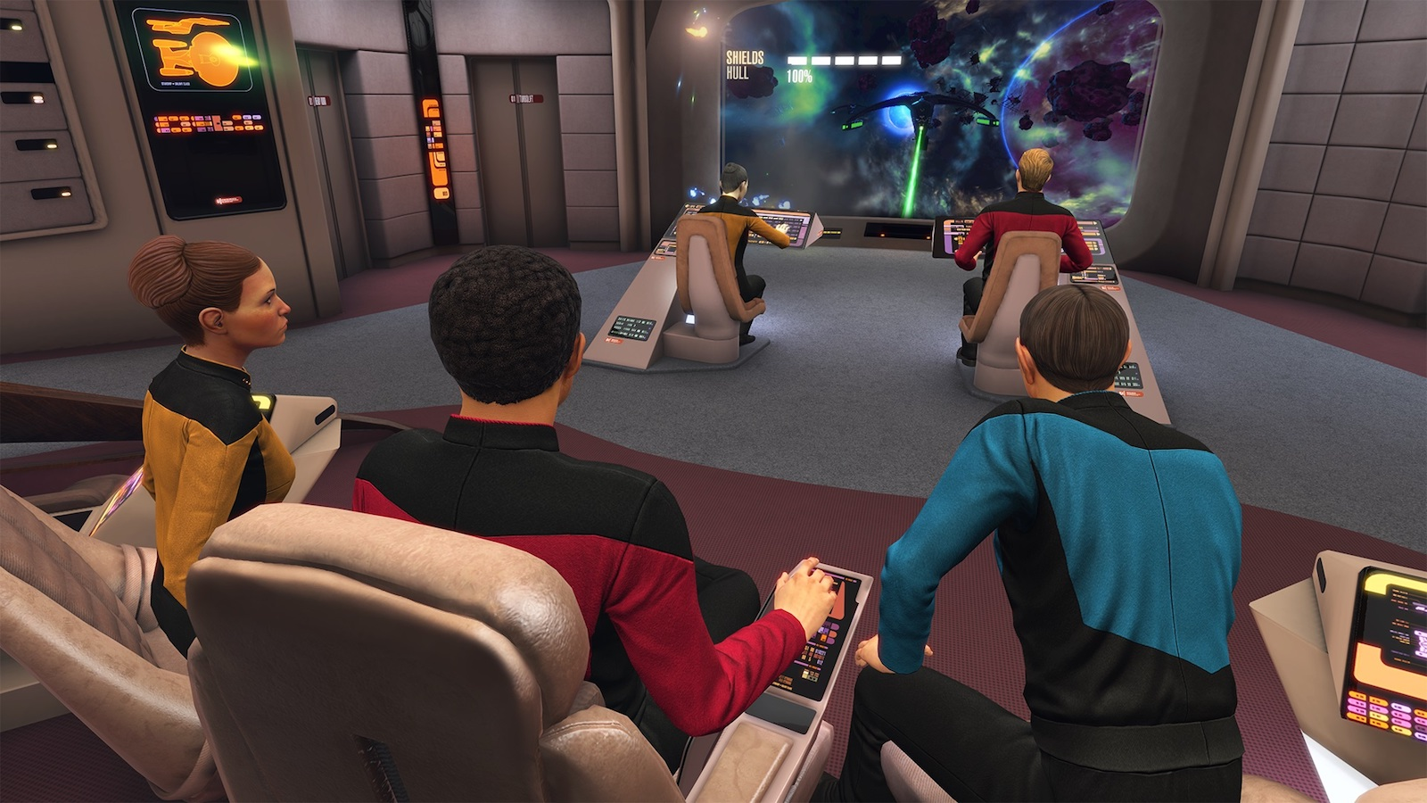 Star Trek The Next Generation boldly goes to Bridge Crew