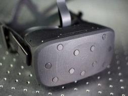 oculus half dome vr headset prototype