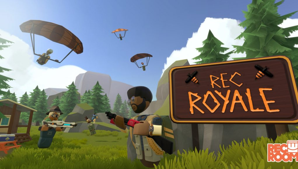 Here's An Early Look At Rec Room Battle Royale In Alpha