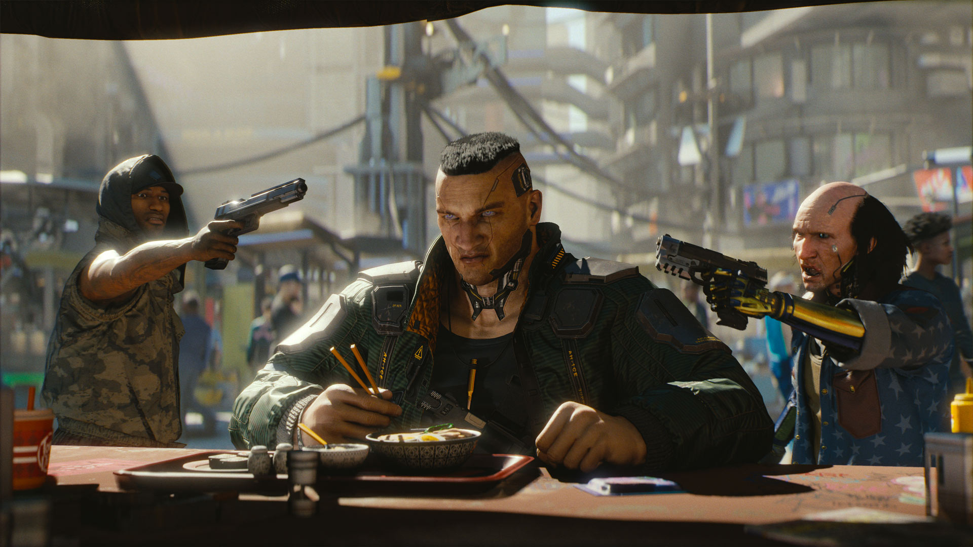 Cyberpunk 2077 Paints Microsoft's E3 Stage Red With A New Trailer