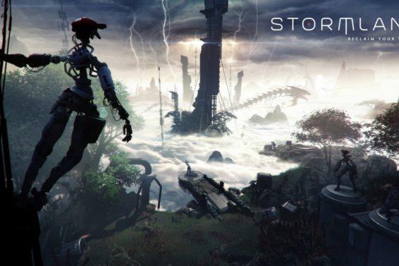 stormland vr game key art