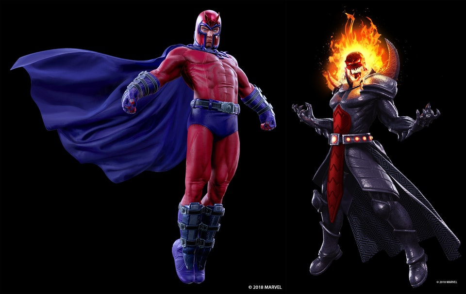 Magneto And Dormammu Joining Marvel Powers United VR