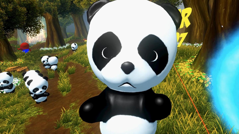 save pandas vr game