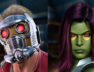 star lord gamora guardians of the galaxy