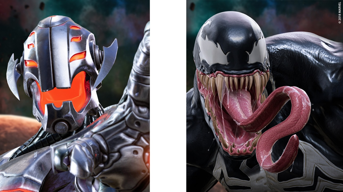 Venom And Ultron Join The List of Heroes For Marvel Powers United VR