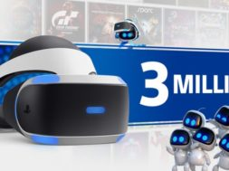 sony sells 3 million psvr headsets