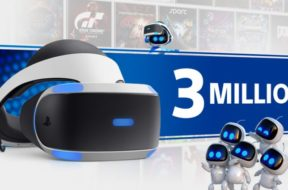sony sells 3 million psvr headsets