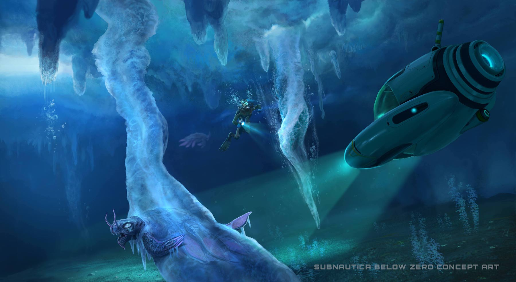 Subnautica Will Be Available To Download For Free On Epic Games Including VR Version