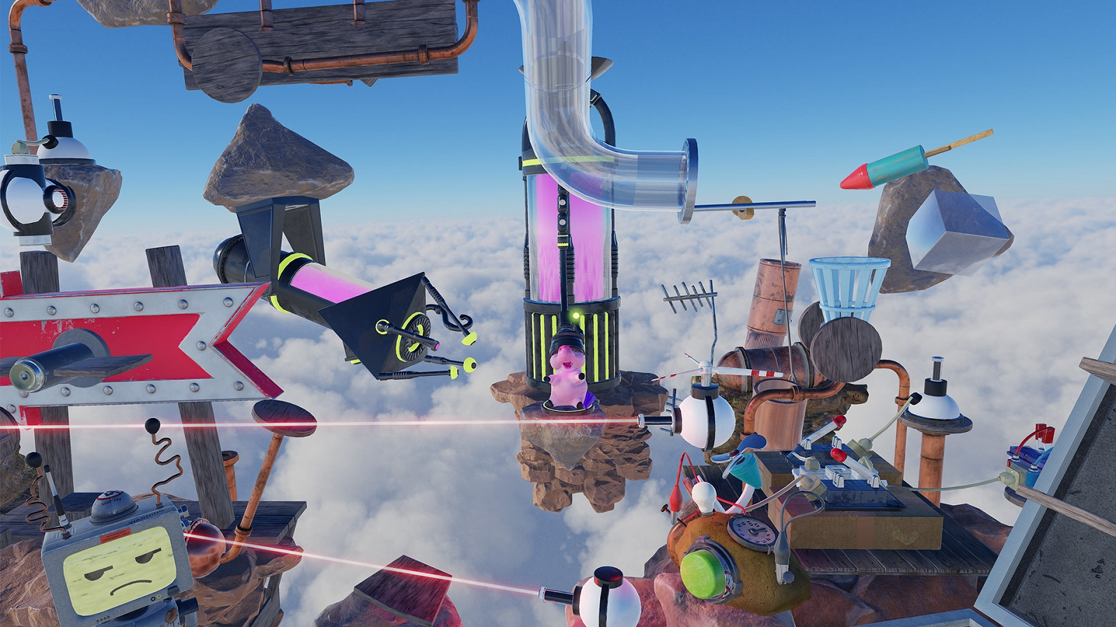 Crazy Machines VR Makes The Virtual World A Little Bit More Fun And Chaotic