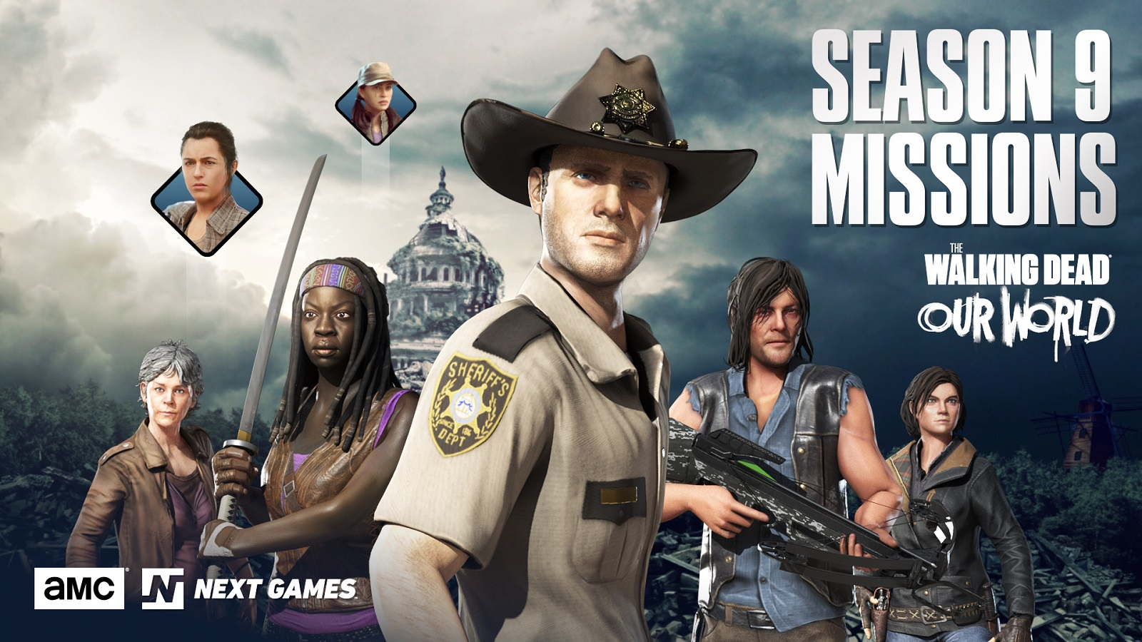 The Walking Dead: Our World Will Be Receiving New Exclusive Season 9 Missions
