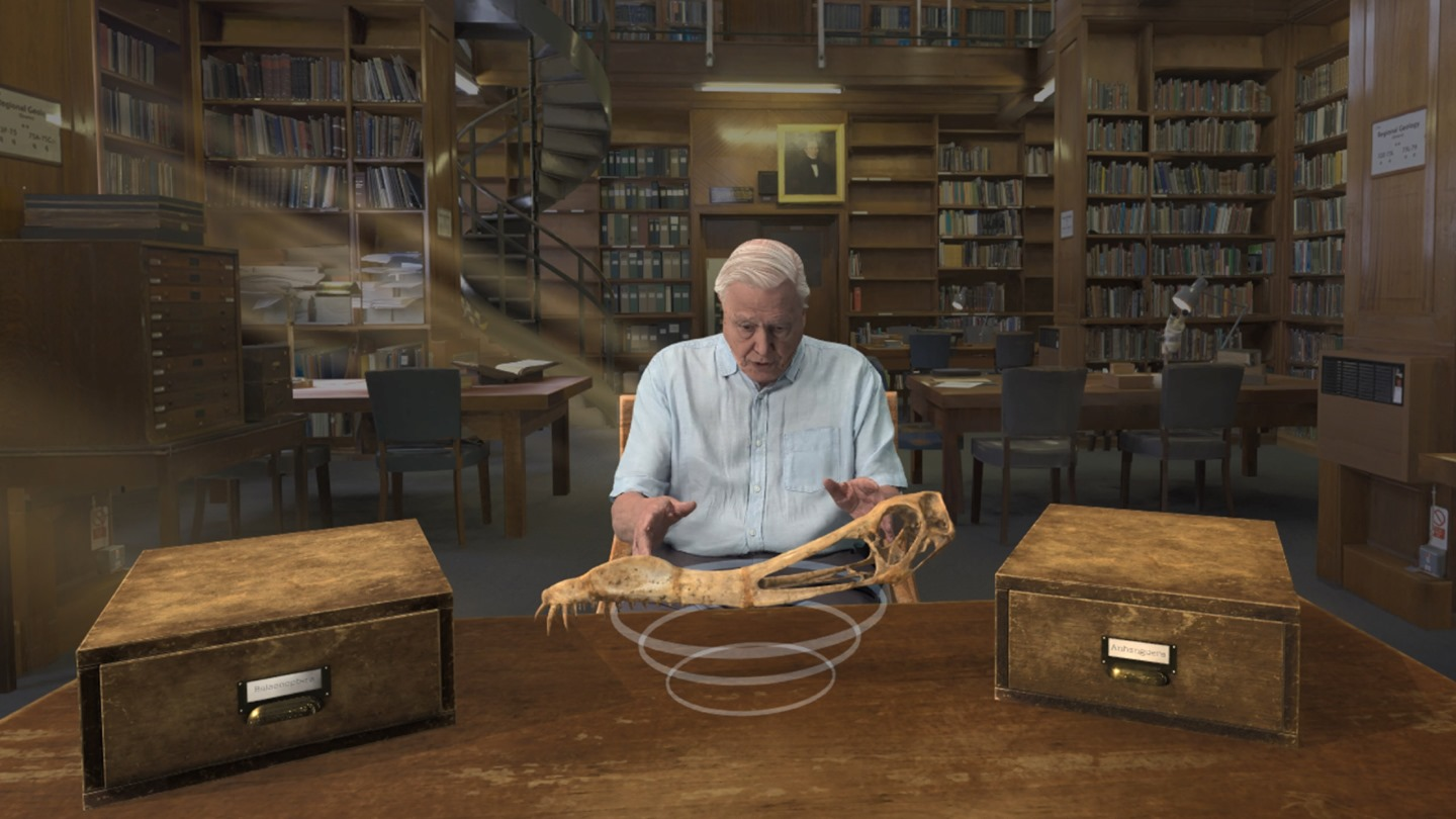 Join Sir David Attenborough Through The Virtual  Reality Experience Of 'Hold The World'