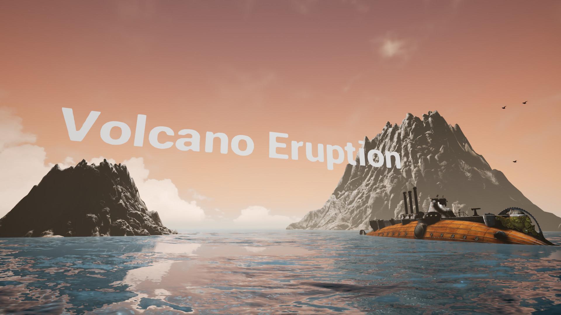 volcano eruption vr