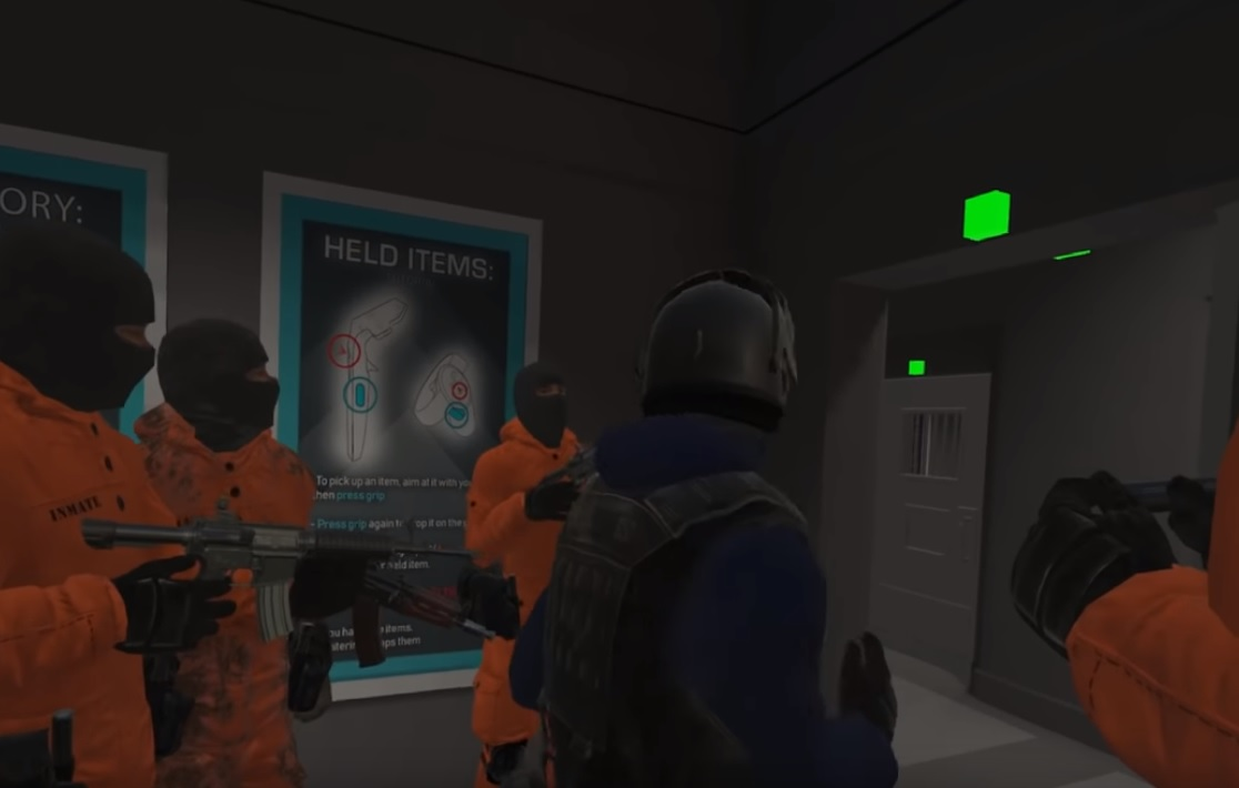 Watch How These Players Hilariously Escape A Maximum Security Prison In VR