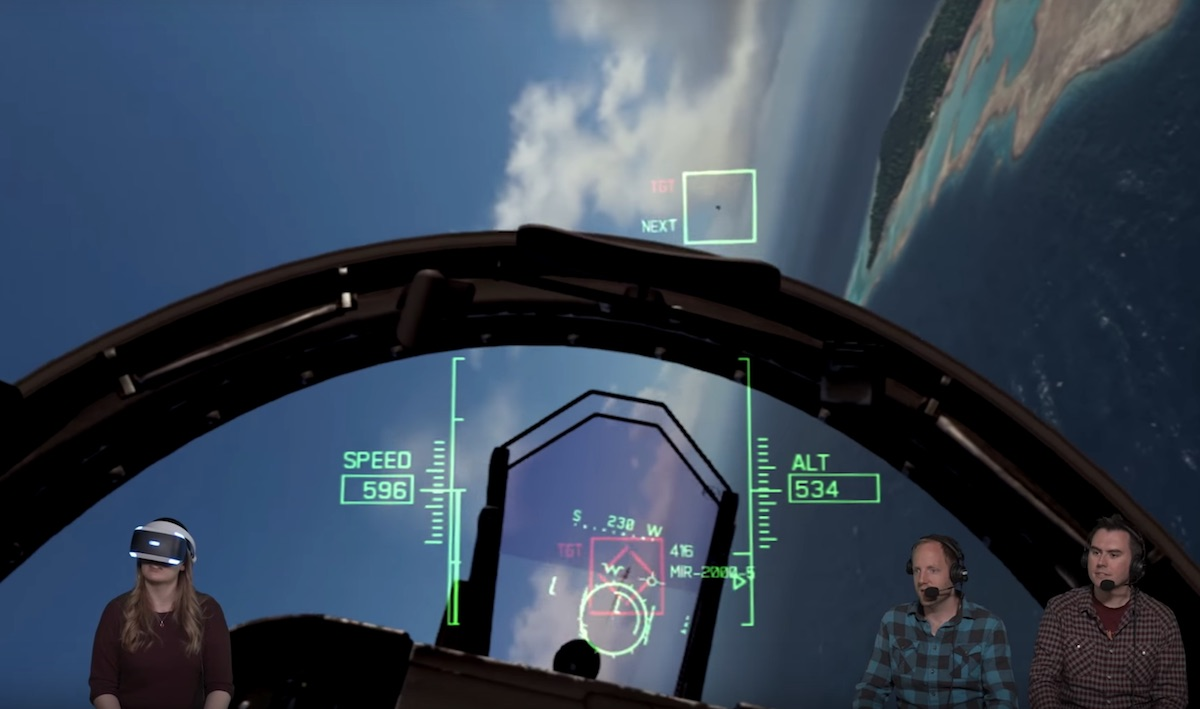 VR Gameplay For Ace Combat 7: Skies Unknown