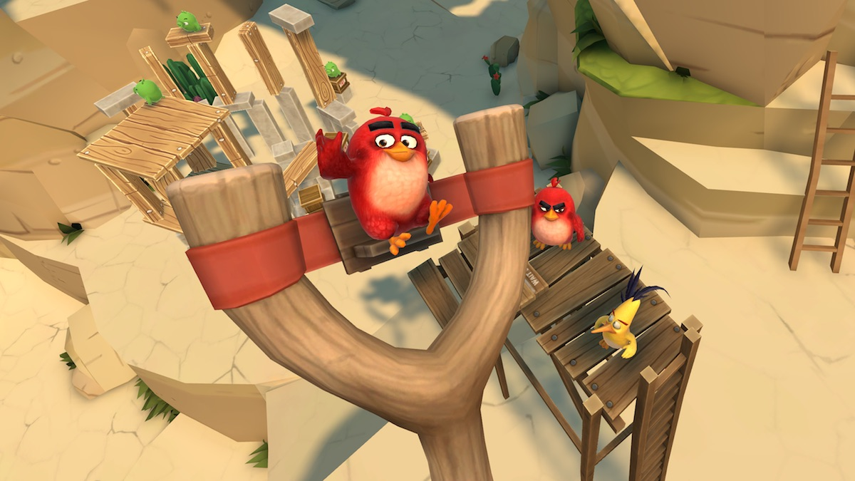 Angry Birds VR: Isle of Pigs – Is It Worth It