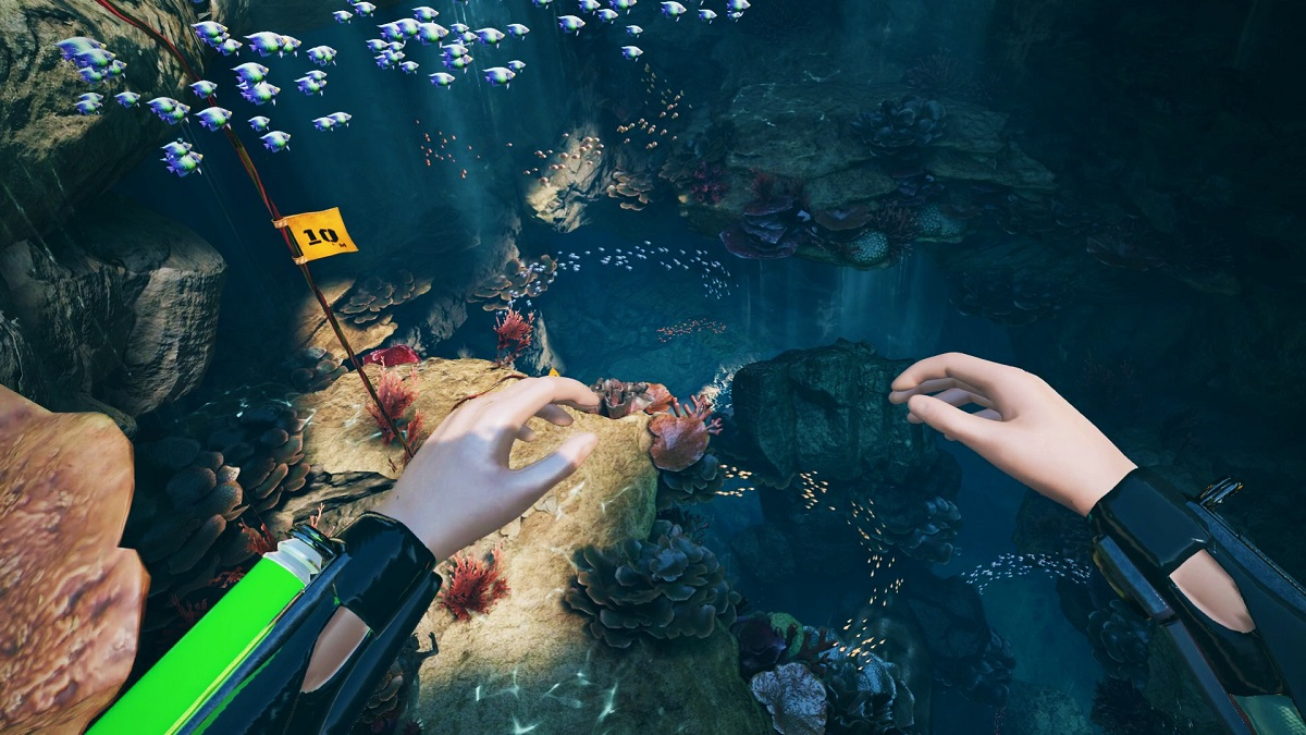 Visit The VR Underwater Depths In Freediver: Triton Down
