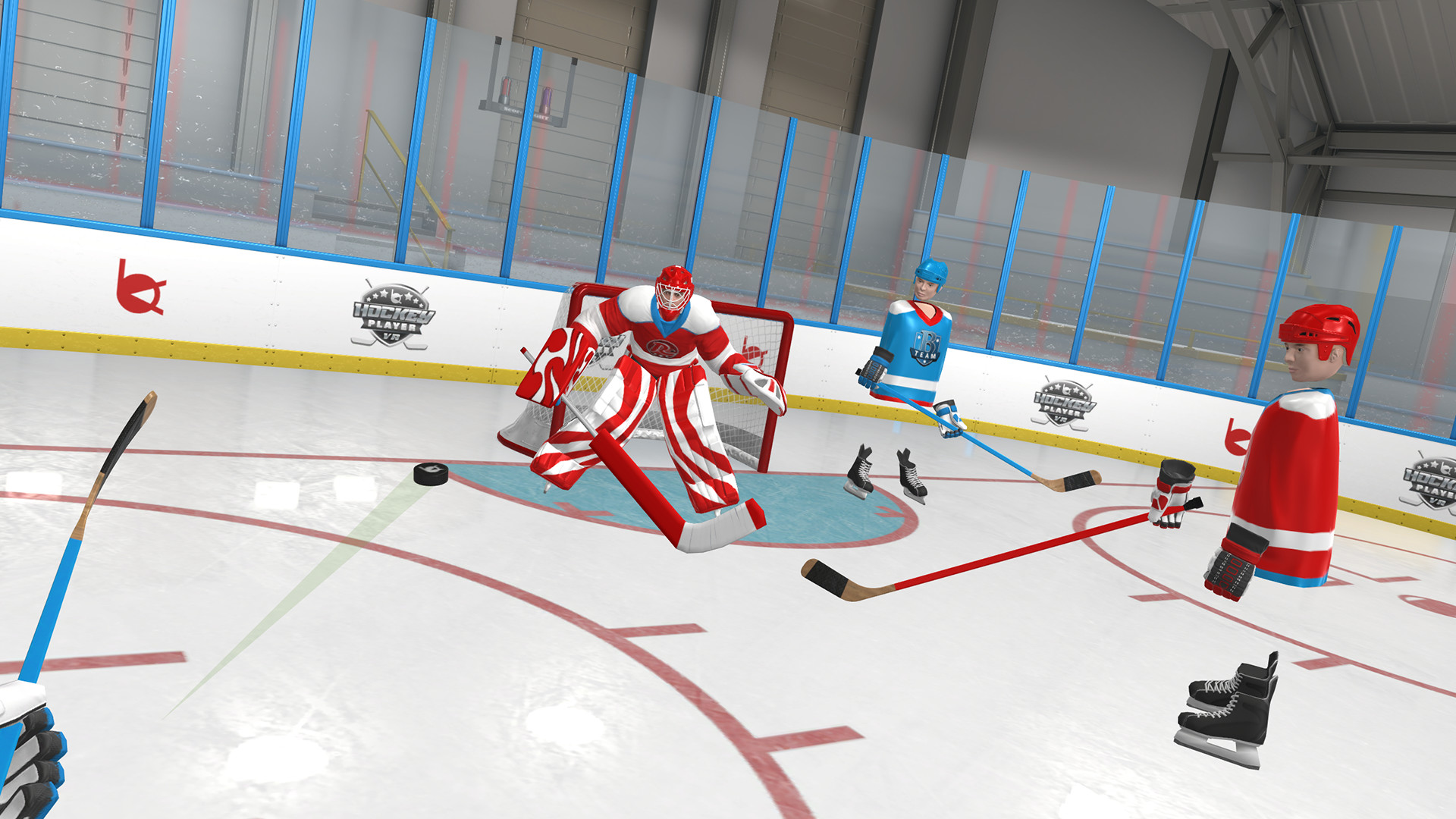 Enjoy This Year's NHL Playoffs By Trying Out Hockey Player VR