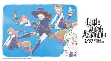 little witch academia vr broom racing