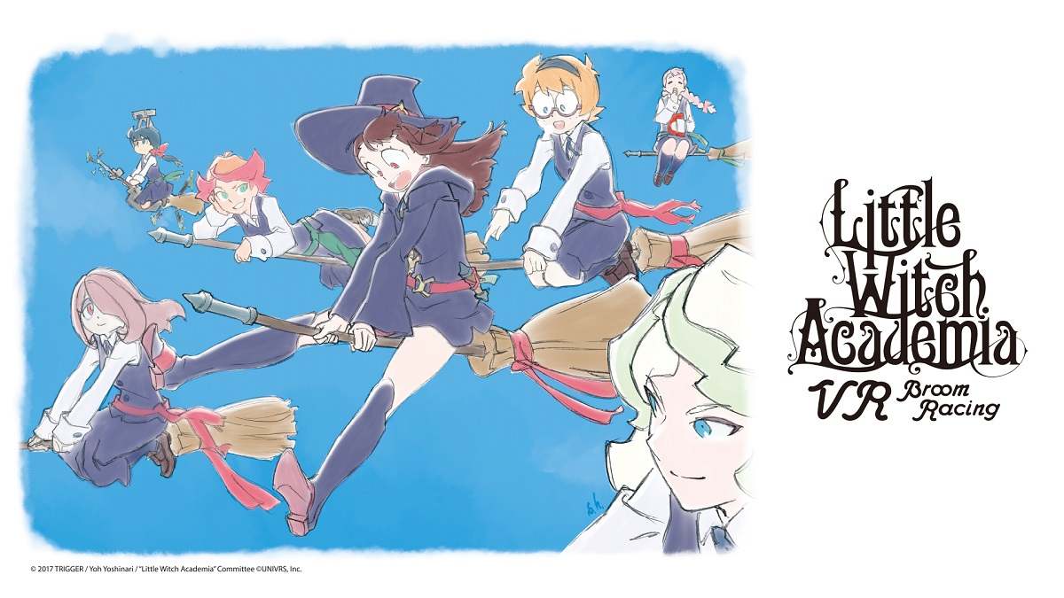 UNIVRS Looks To Crowdfund Little Witch Academia Into A Virtual Reality Game Called VR Broom Racing