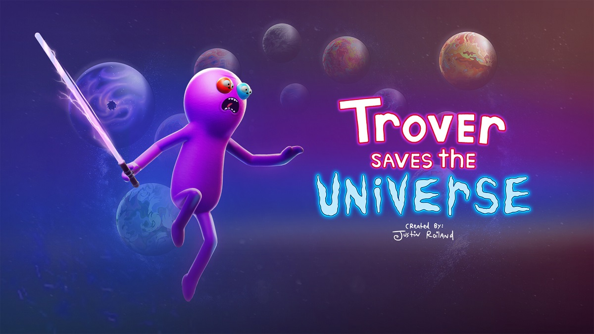 Rick And Morty Creator Launches New VR Game Called Trover Saves The Universe