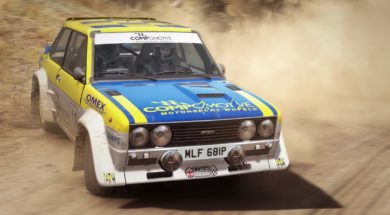 dirt rally vr game image