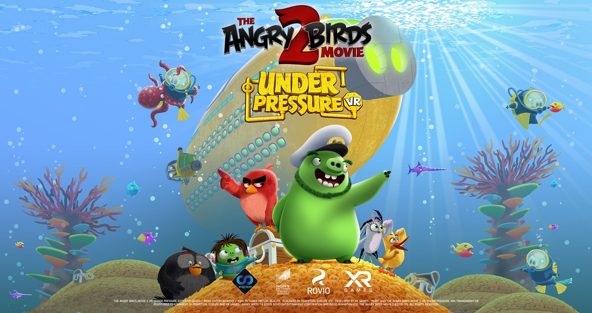 The Angry Birds Movie 2 VR: Under Pressure Now Available