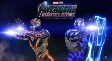 Avengers Damage Control vr experience