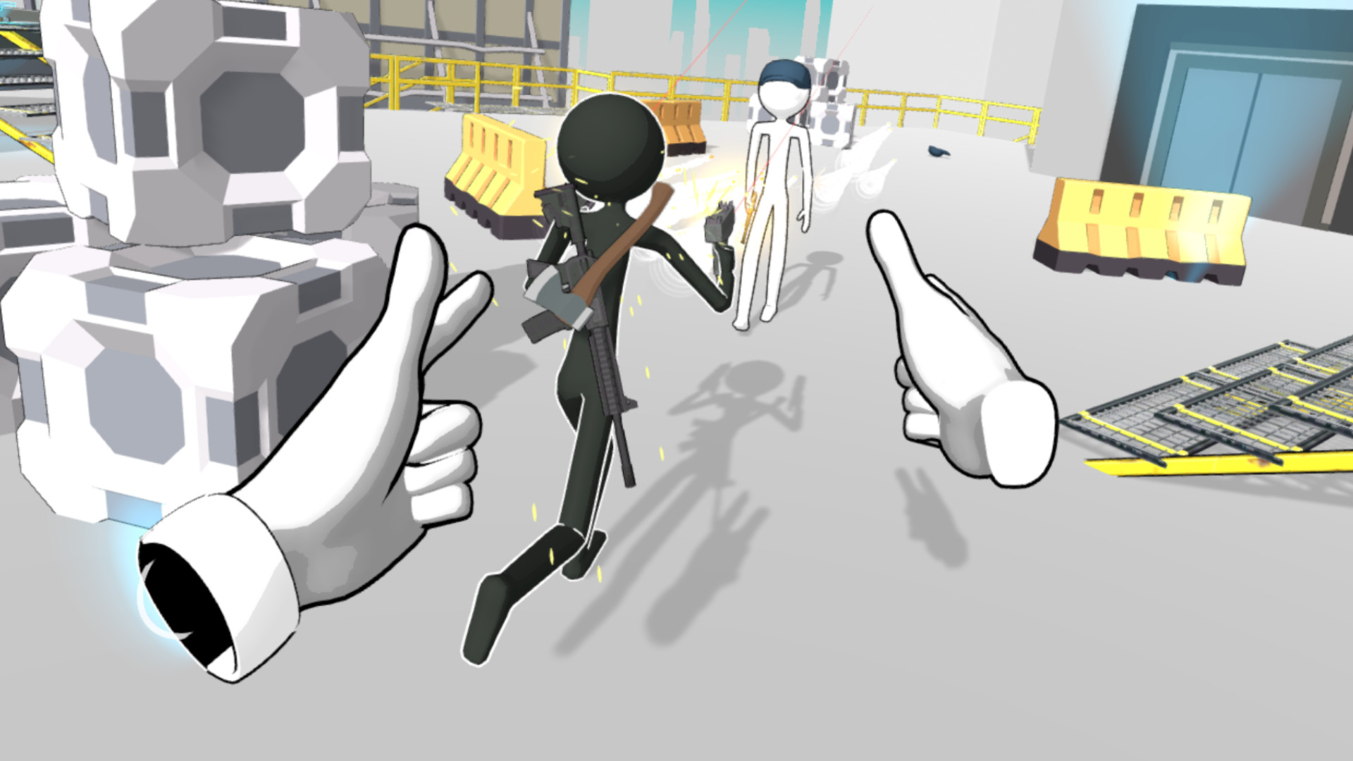 Enjoy The VR Action Physics In Holoception