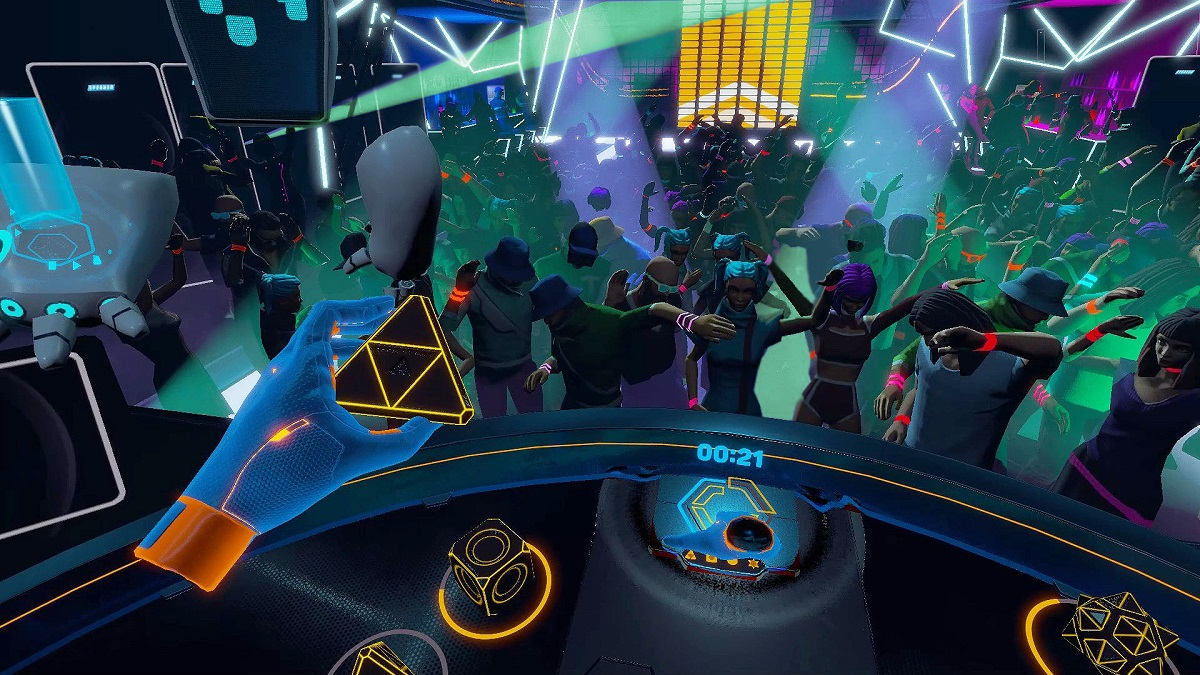 Throw Your Hands Up For Party Pumper In VR