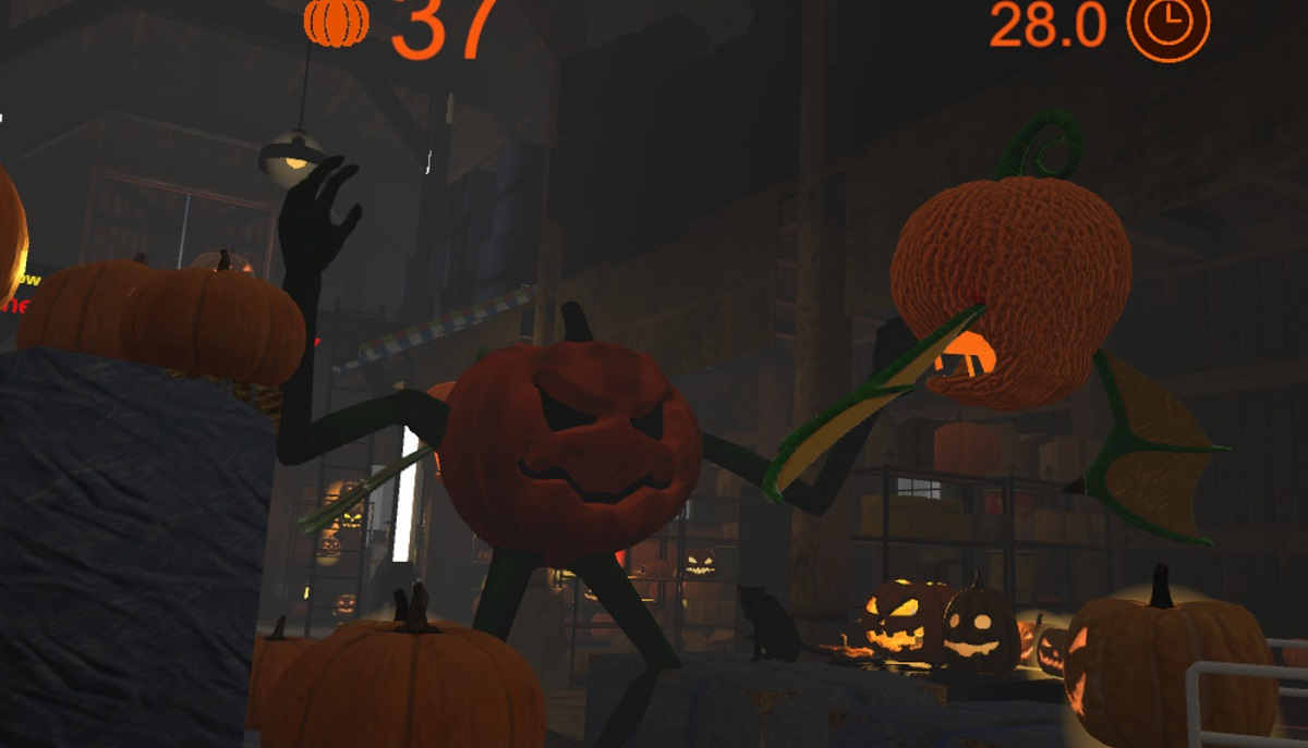 Time To Go Halloweening In Pumpkin Smasher VR