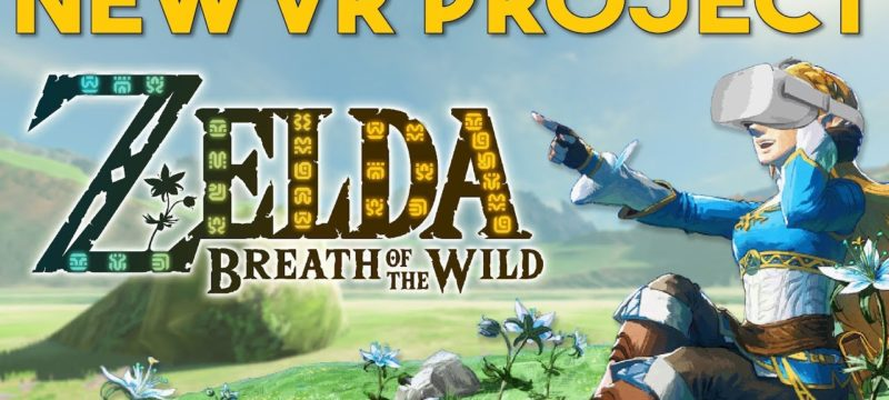 zelda breath of the wild vr full game mod