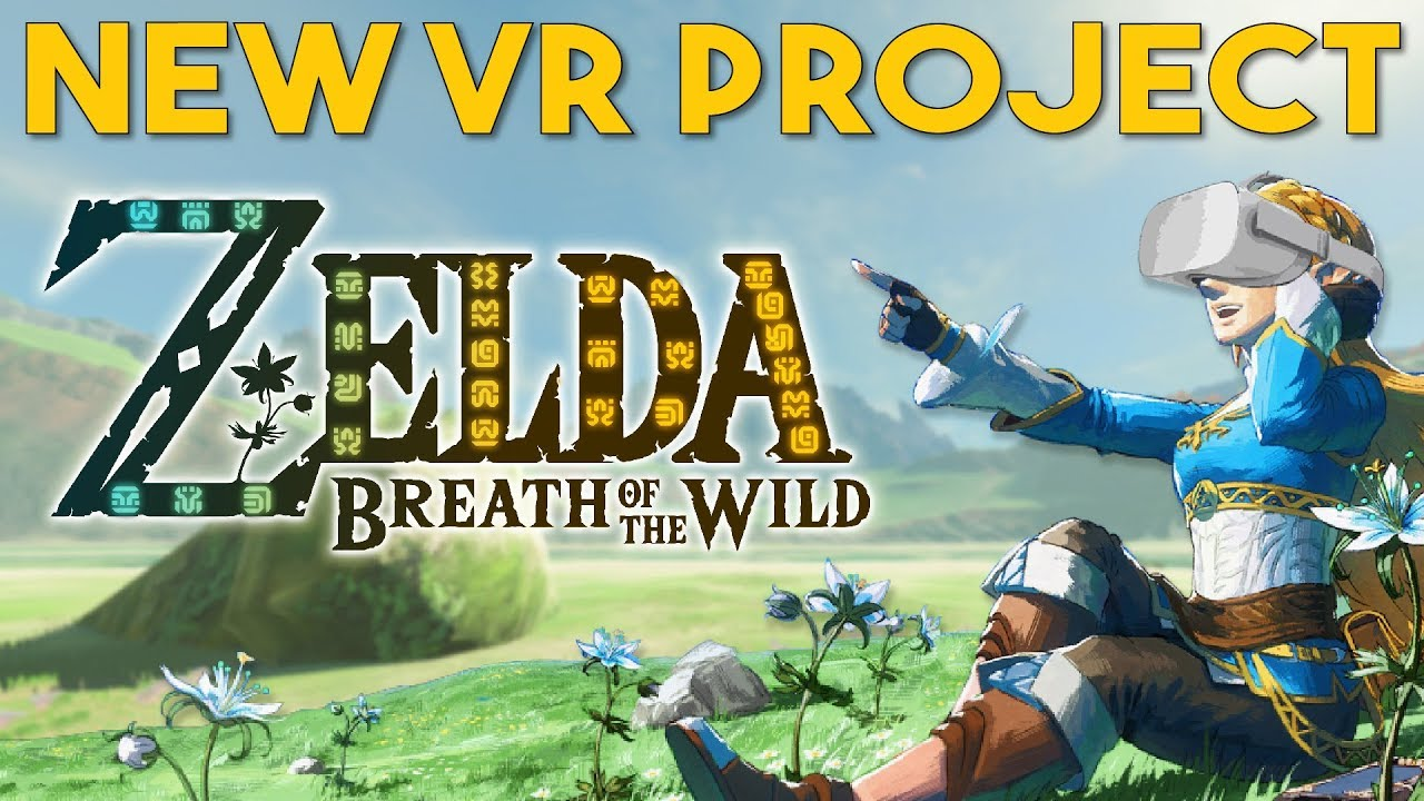 A New Zelda: Breath Of The Wild VR Project In The Works