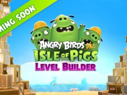 Angry Birds VR Isle of Pigs – LEVEL BUILDER 'Coming Soon' Image
