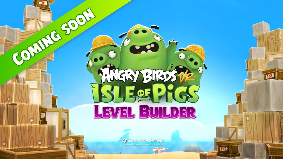 Angry Birds: Isle of Pigs Will Allow You To Build Your Own Levels