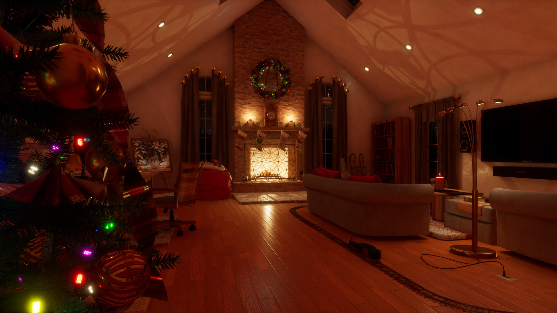 Ho Ho Ho! It's Time For 'Santa's Visit' In VR
