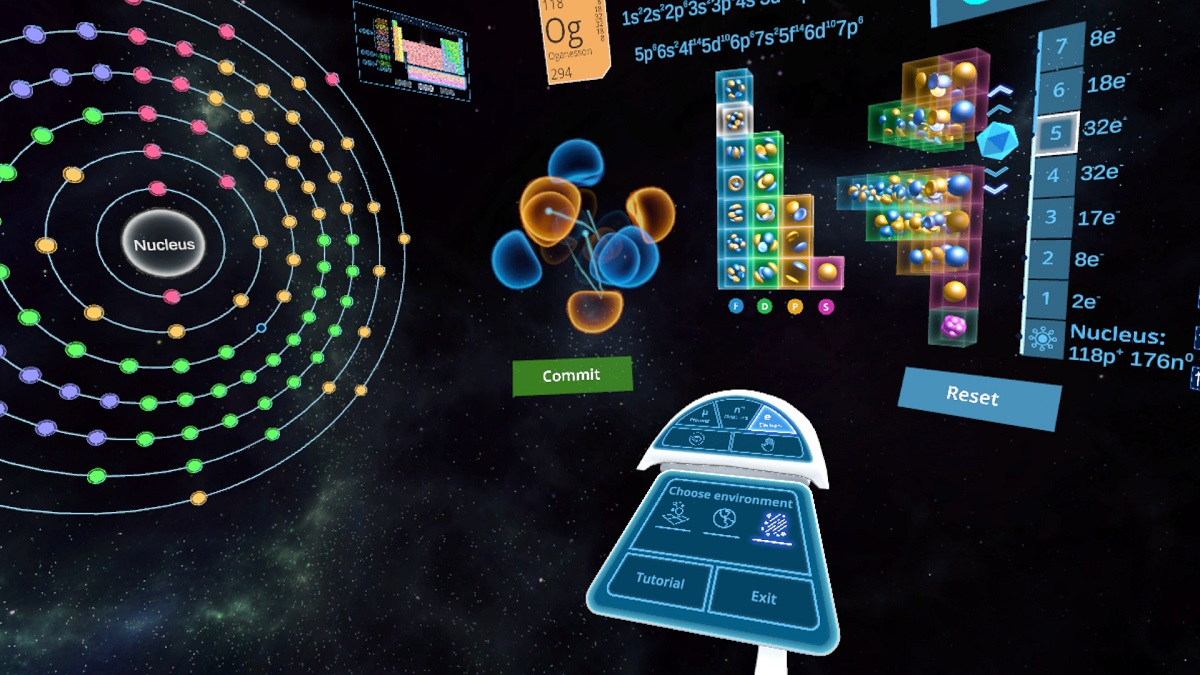 Abelana's Atom Maker Takes Science Into Virtual Reality