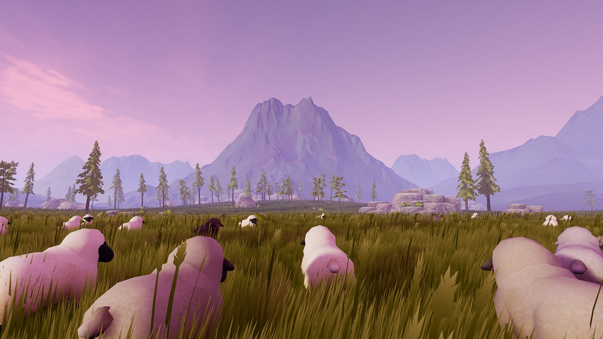 Take A Leisurely Walk In Therapy Sheep VR