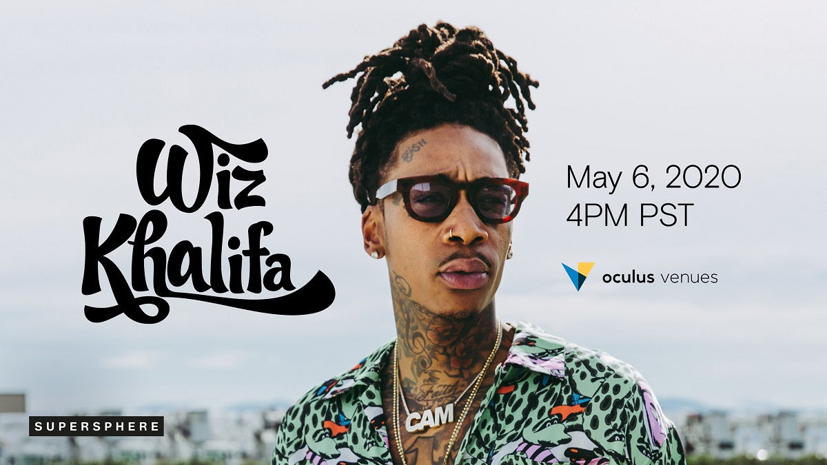 Virtual Wiz Khalifa Concert Coming To Oculus Venues May 6th At 4PM PST